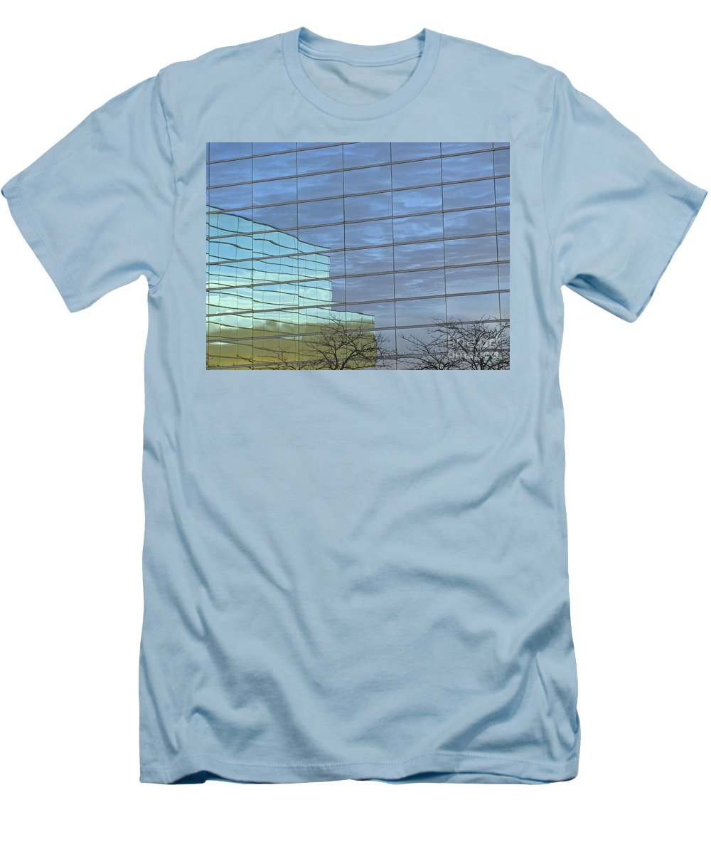 Twilight Men's T-Shirt (Athletic Fit) featuring the photograph Twilight by Ann Horn