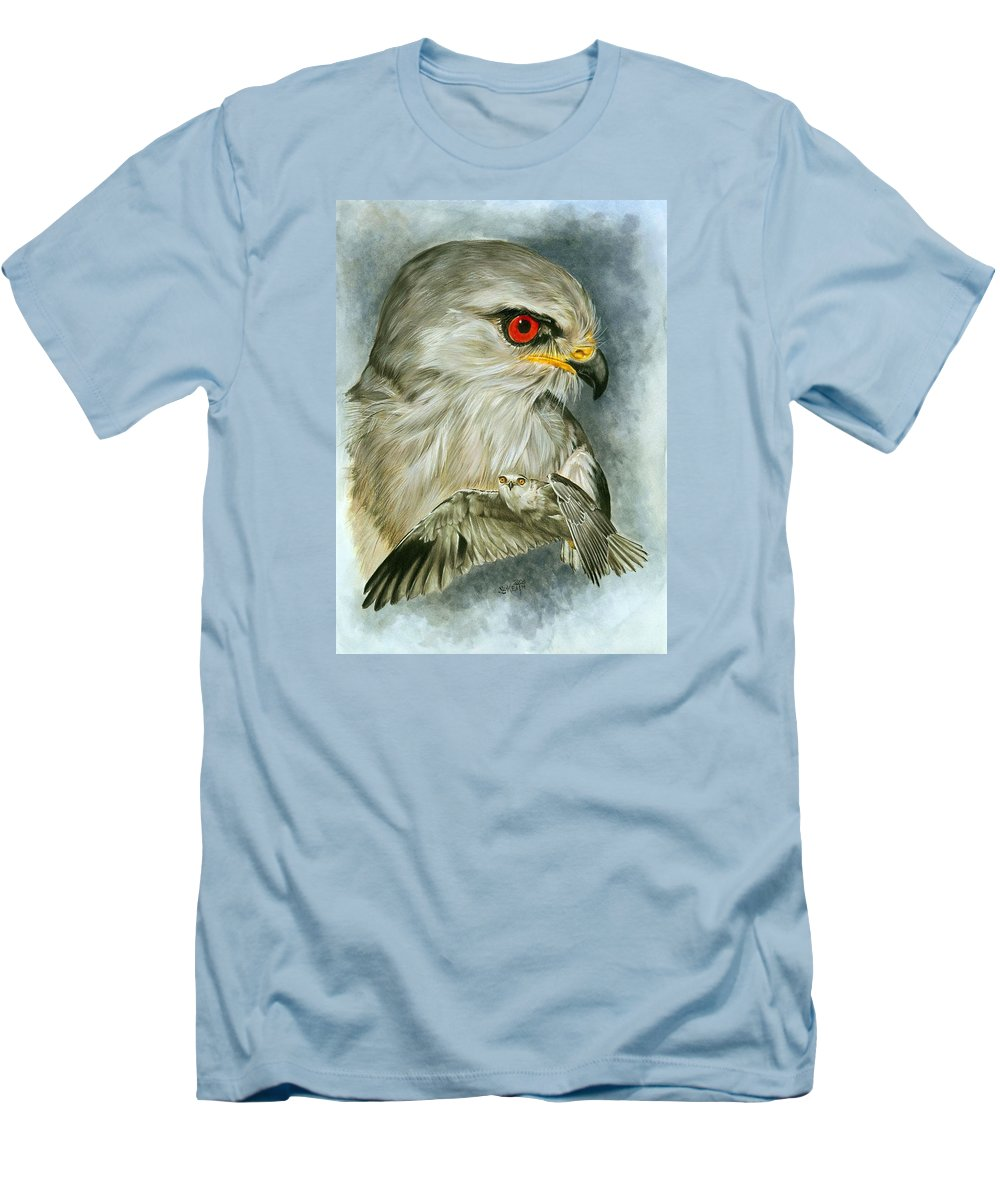 Kite Men's T-Shirt (Athletic Fit) featuring the mixed media Velocity by Barbara Keith