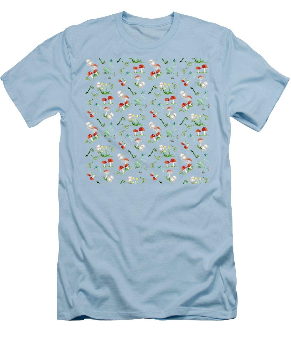 Mushroom Slim Fit T-Shirts