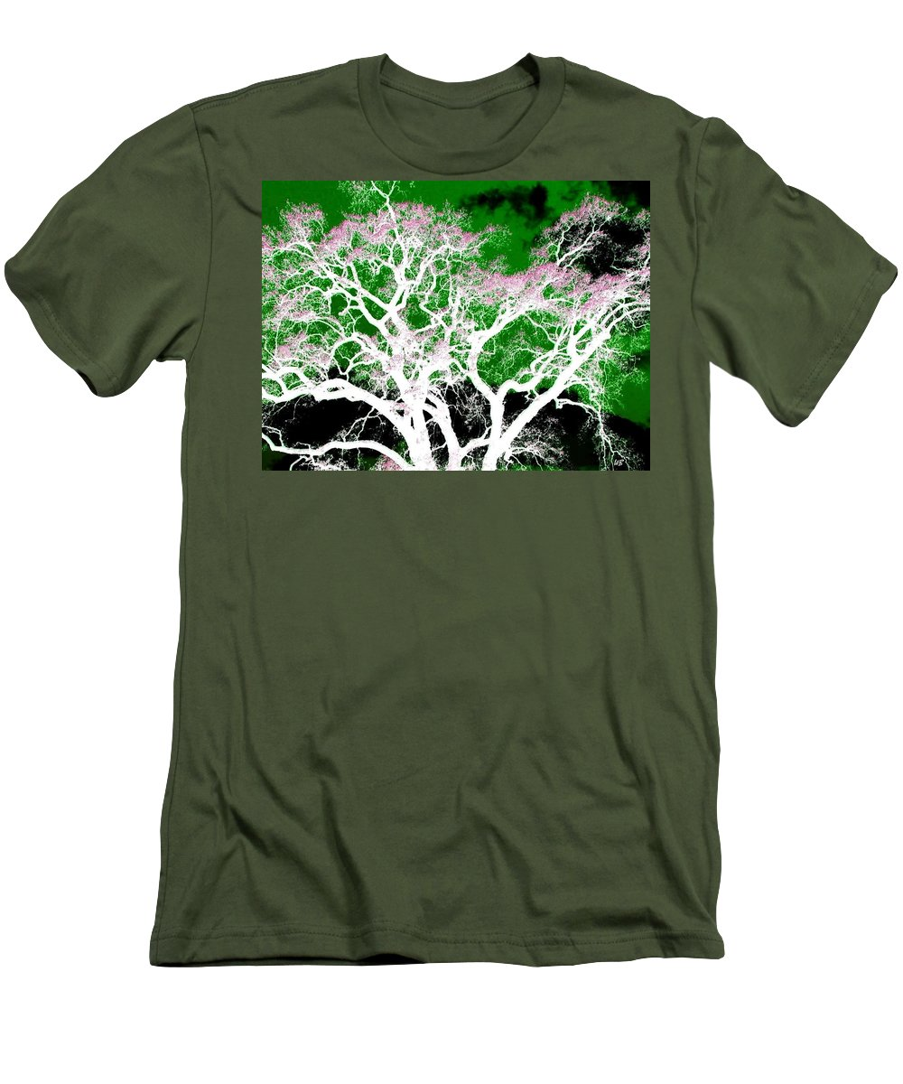 Impressions Men's T-Shirt (Athletic Fit) featuring the digital art Impressions 1 by Will Borden