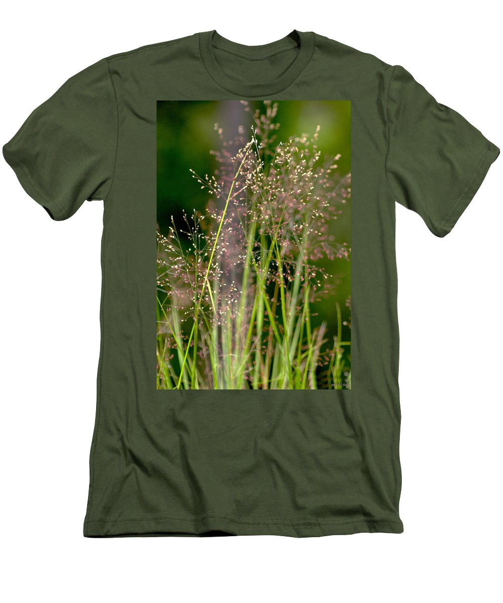 Floral Men's T-Shirt (Athletic Fit) featuring the photograph Memories Of Springtime by Holly Kempe