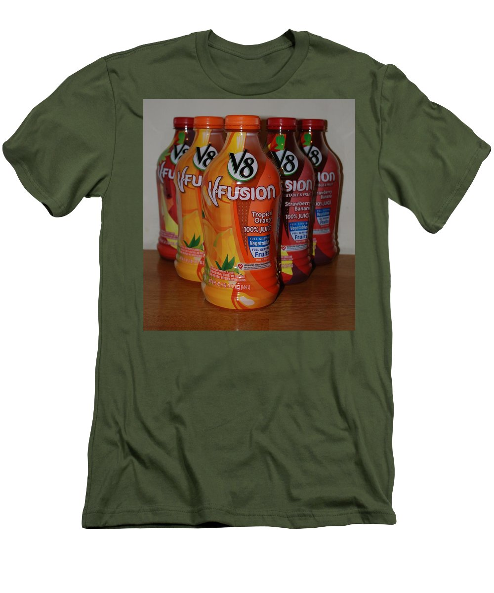 V8 Men's T-Shirt (Athletic Fit) featuring the photograph V8 Fusion by Rob Hans