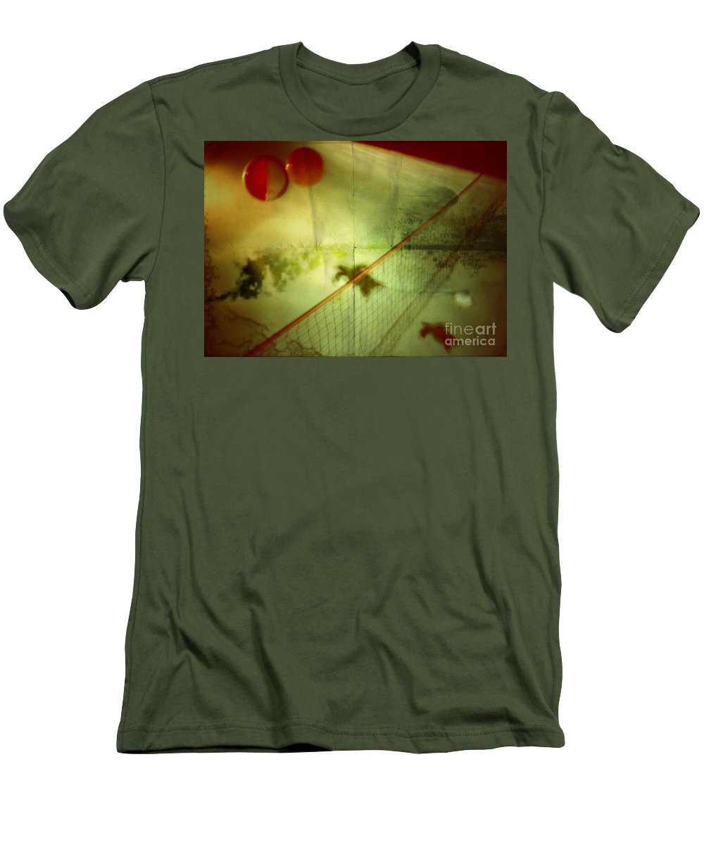 Pool Men's T-Shirt (Athletic Fit) featuring the photograph All Good Things Come To An End by Jason Williams