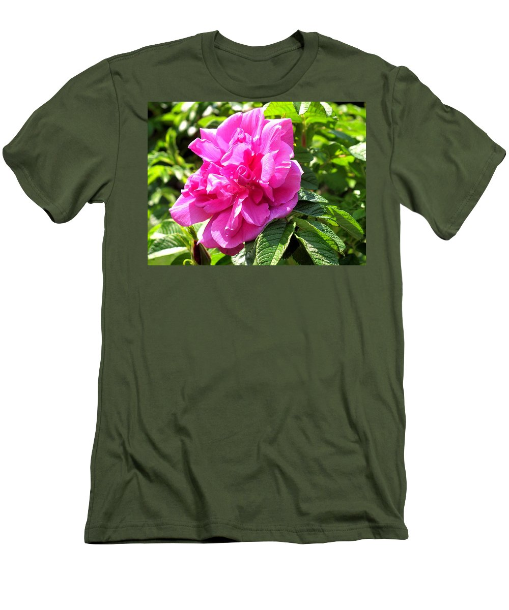 Rose Men's T-Shirt (Athletic Fit) featuring the photograph Carmen by Ian MacDonald
