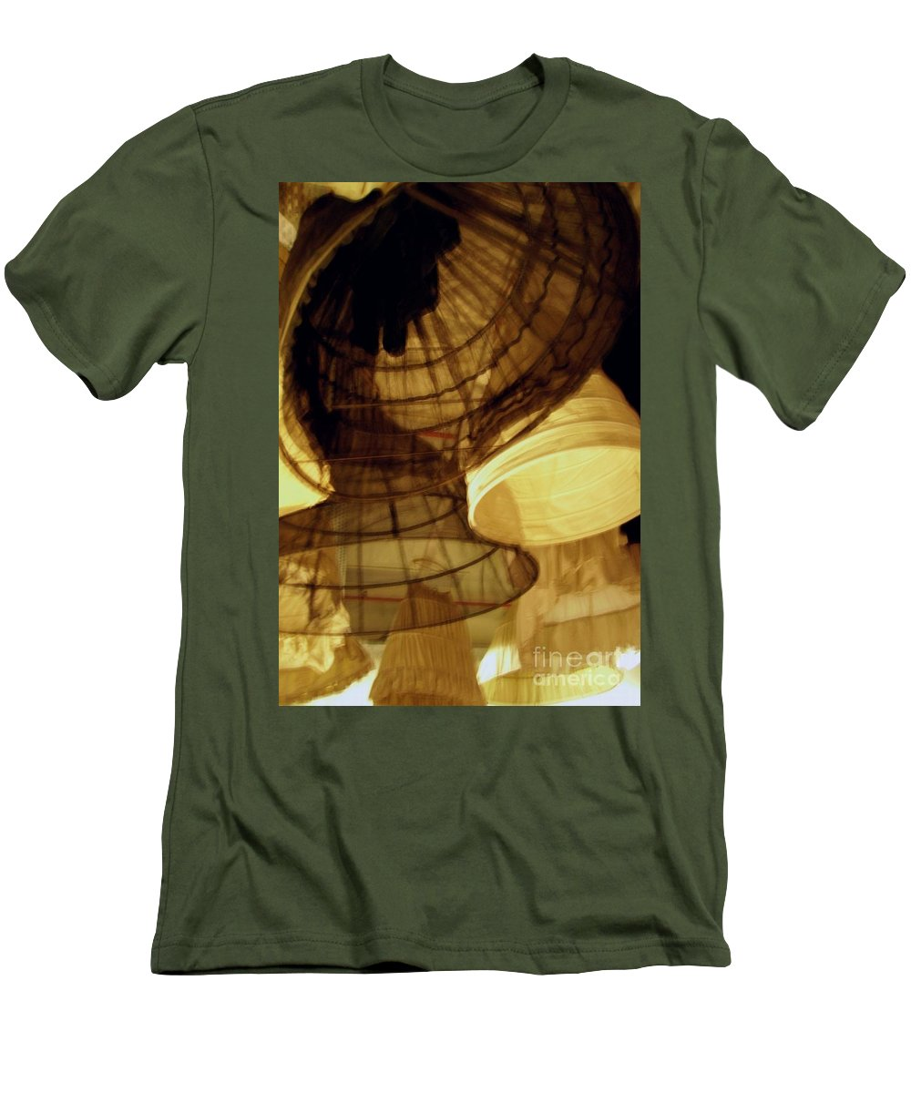 Theatre Men's T-Shirt (Athletic Fit) featuring the photograph Crinolines by Ze DaLuz