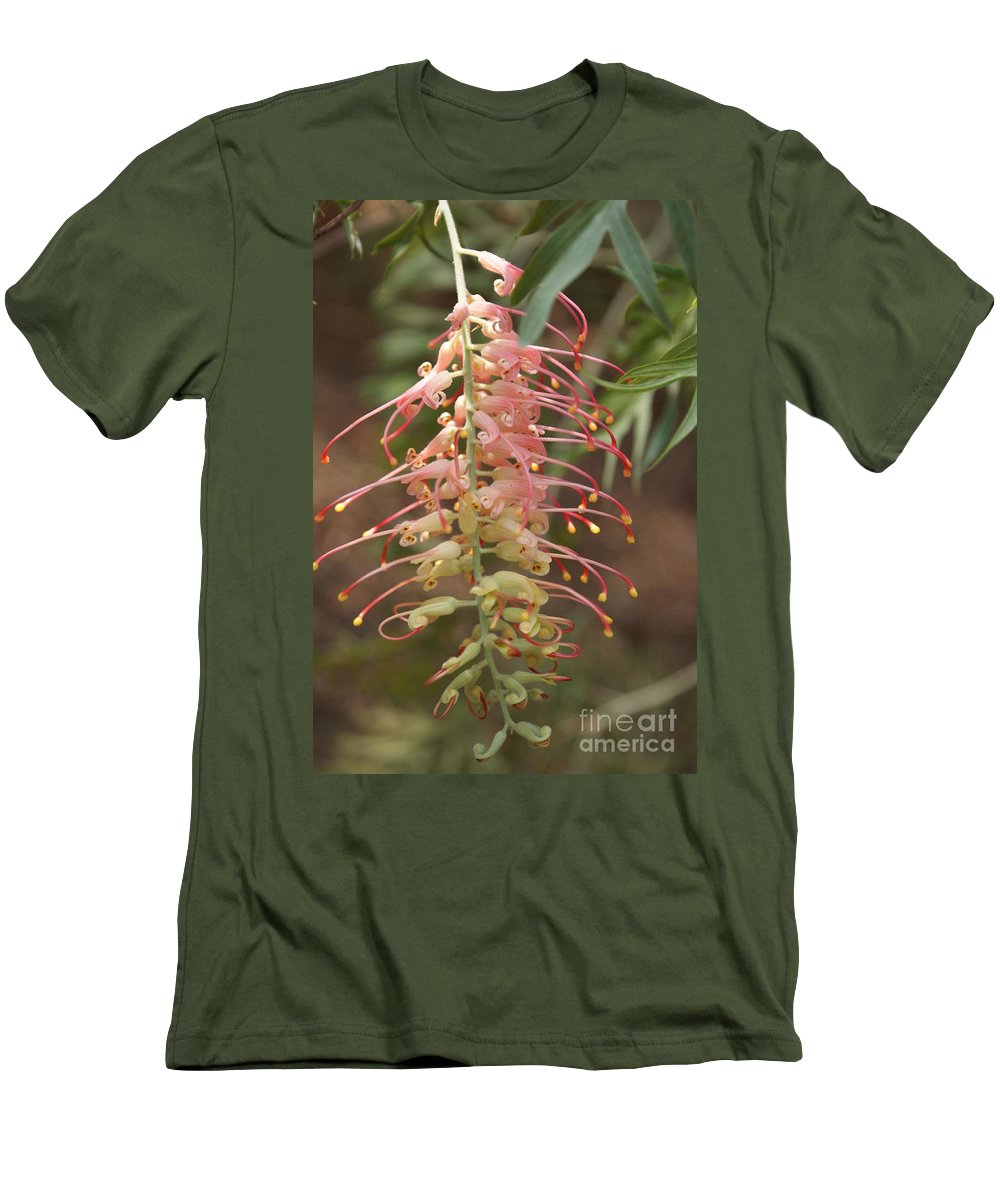 Floral Men's T-Shirt (Athletic Fit) featuring the photograph Dancer by Shelley Jones