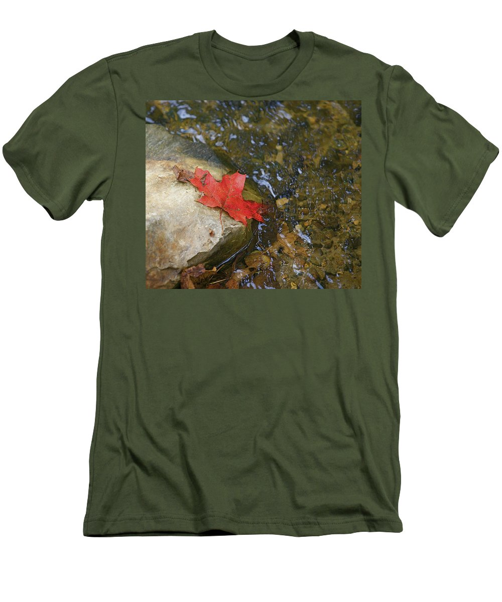 Abstact Men's T-Shirt (Athletic Fit) featuring the photograph Destination by Robert Pearson
