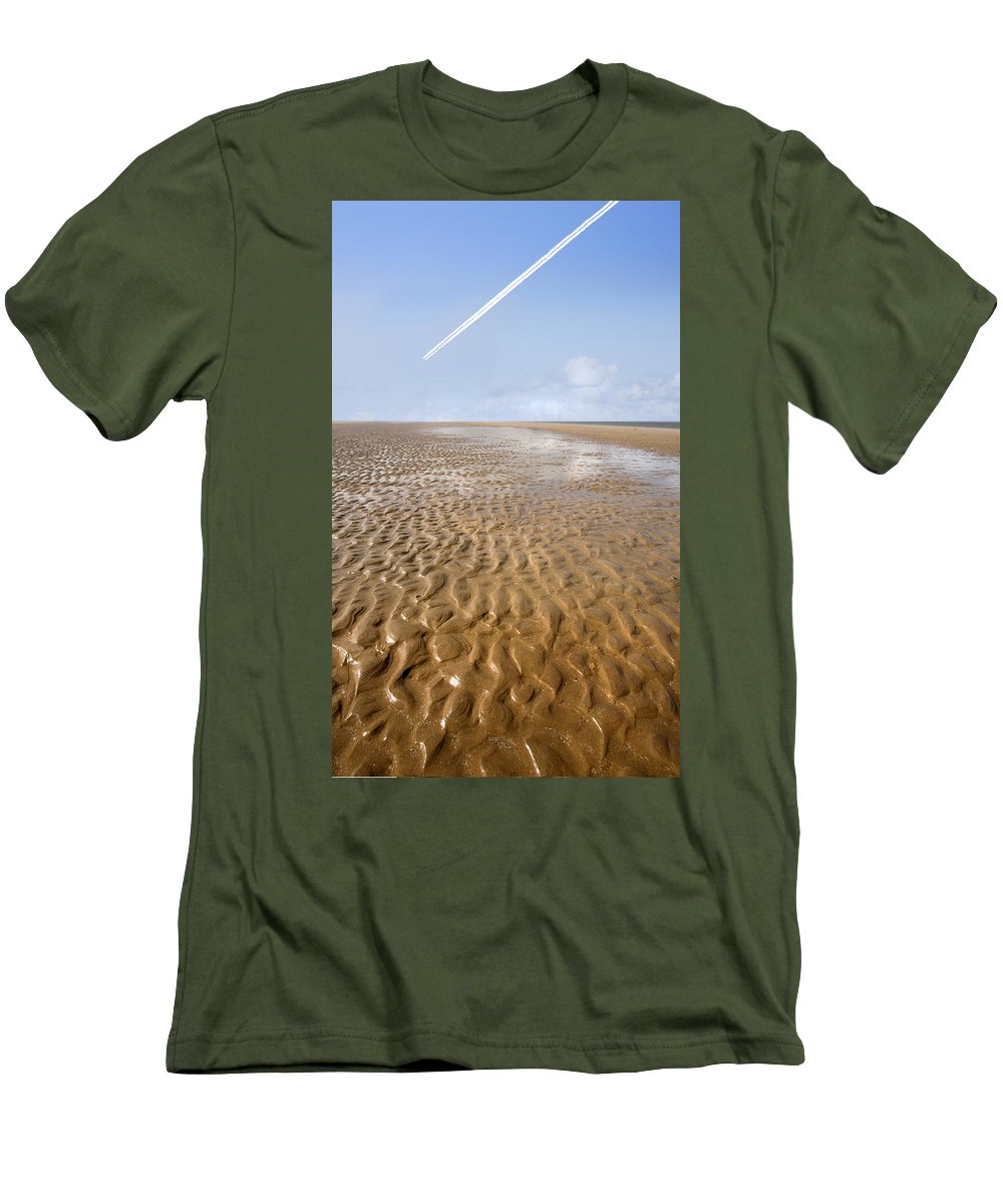 Travel Men's T-Shirt (Athletic Fit) featuring the photograph Distant Horizon by Mal Bray