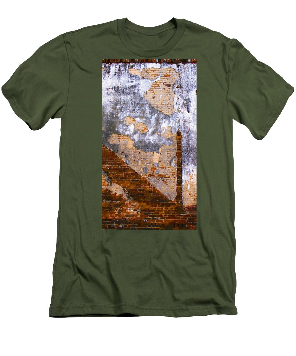 Architecture Men's T-Shirt (Athletic Fit) featuring the photograph Finger Food by Skip Hunt