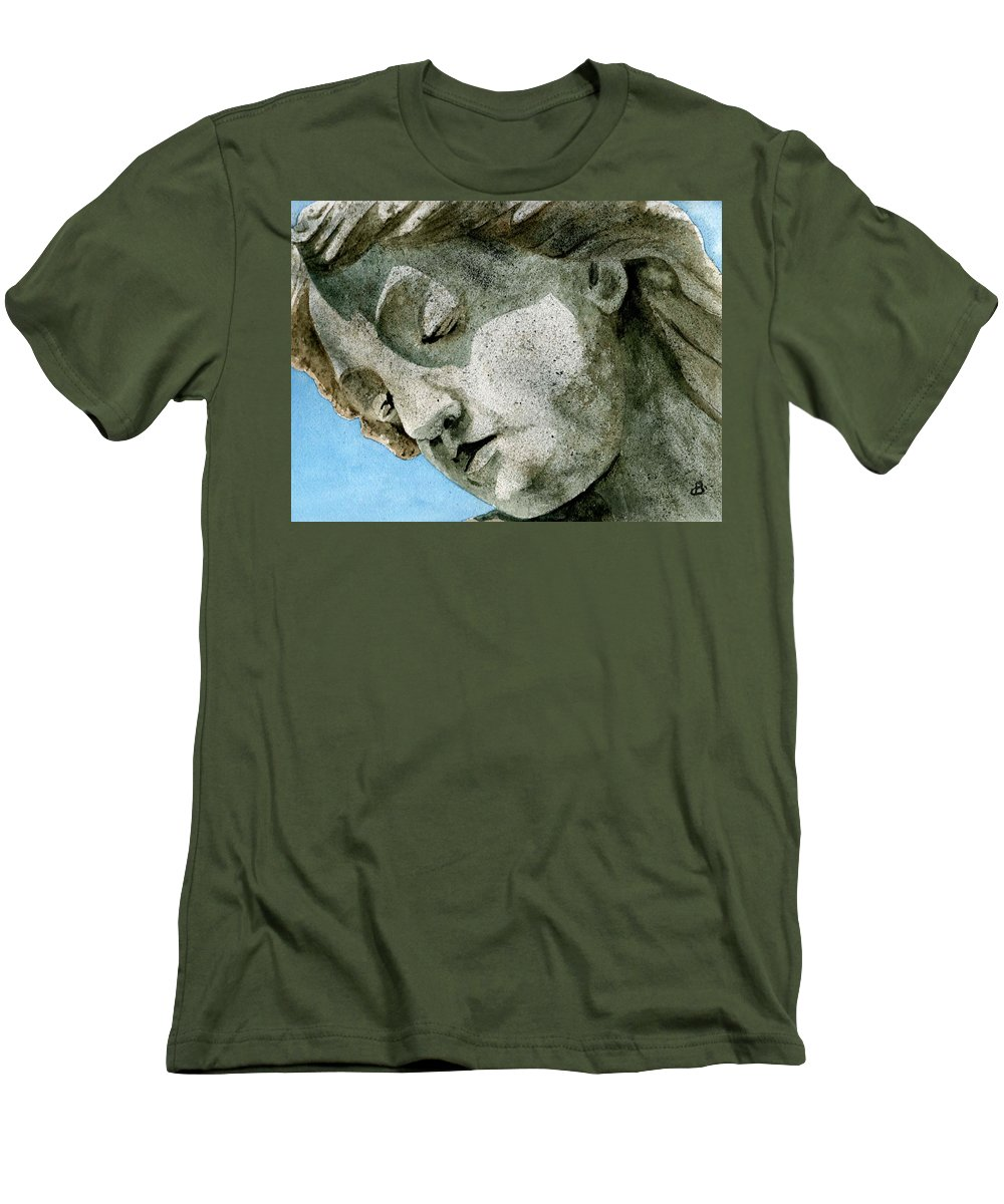Woman Men's T-Shirt (Athletic Fit) featuring the painting Forever Yours by Brenda Owen