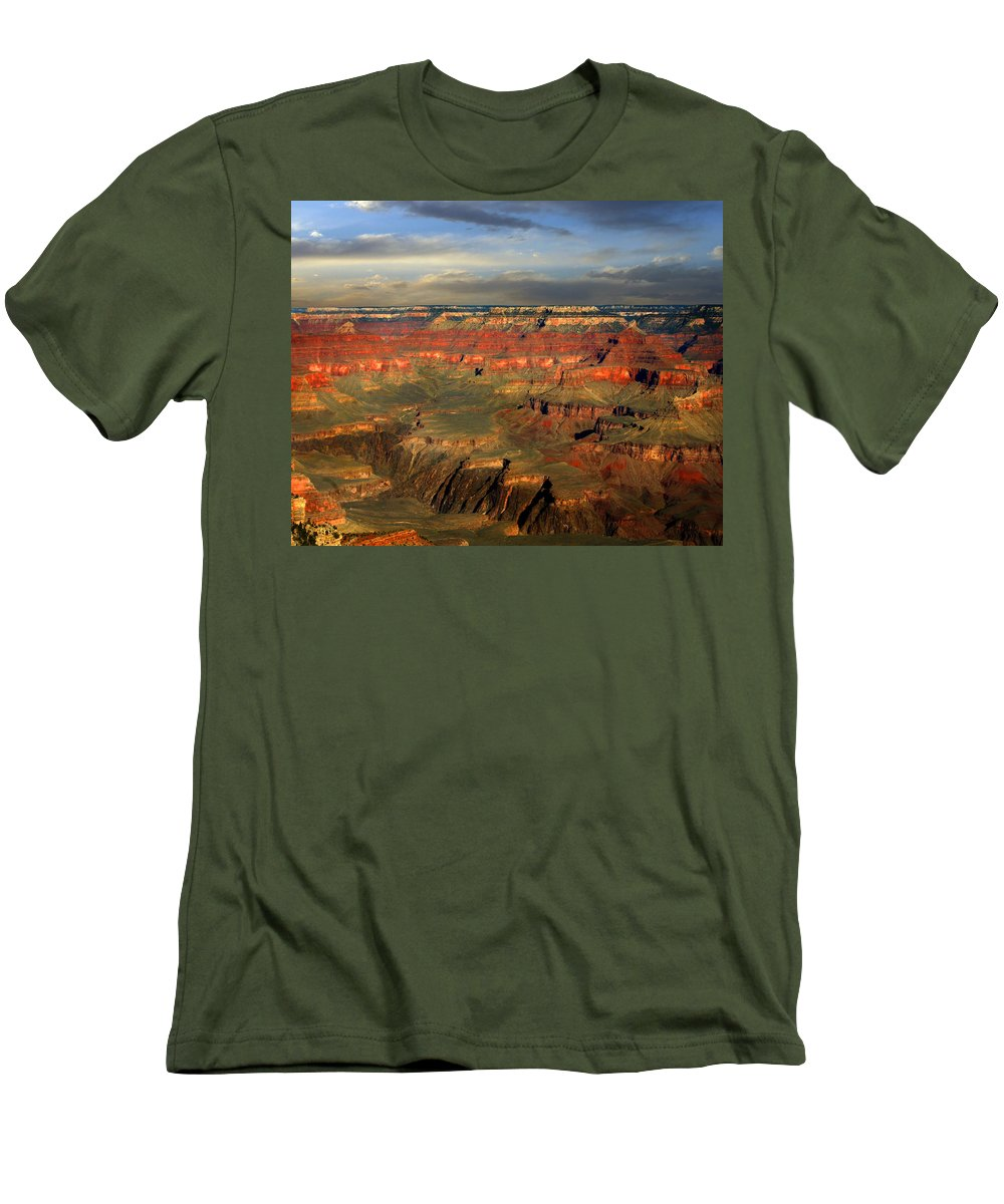 Grand Canyon Men's T-Shirt (Athletic Fit) featuring the photograph Grand Canyon by Anthony Jones