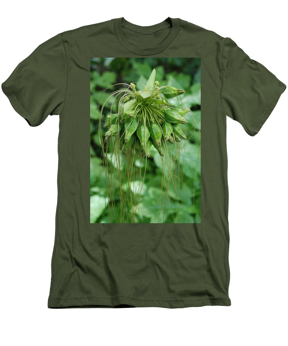 Macro Men's T-Shirt (Athletic Fit) featuring the photograph Green Vines by Rob Hans