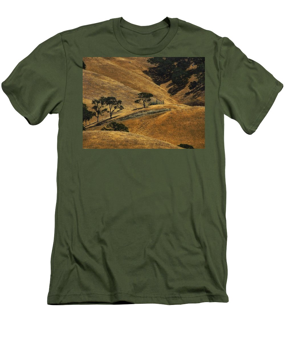 California Men's T-Shirt (Athletic Fit) featuring the photograph Hot Days by Karen W Meyer