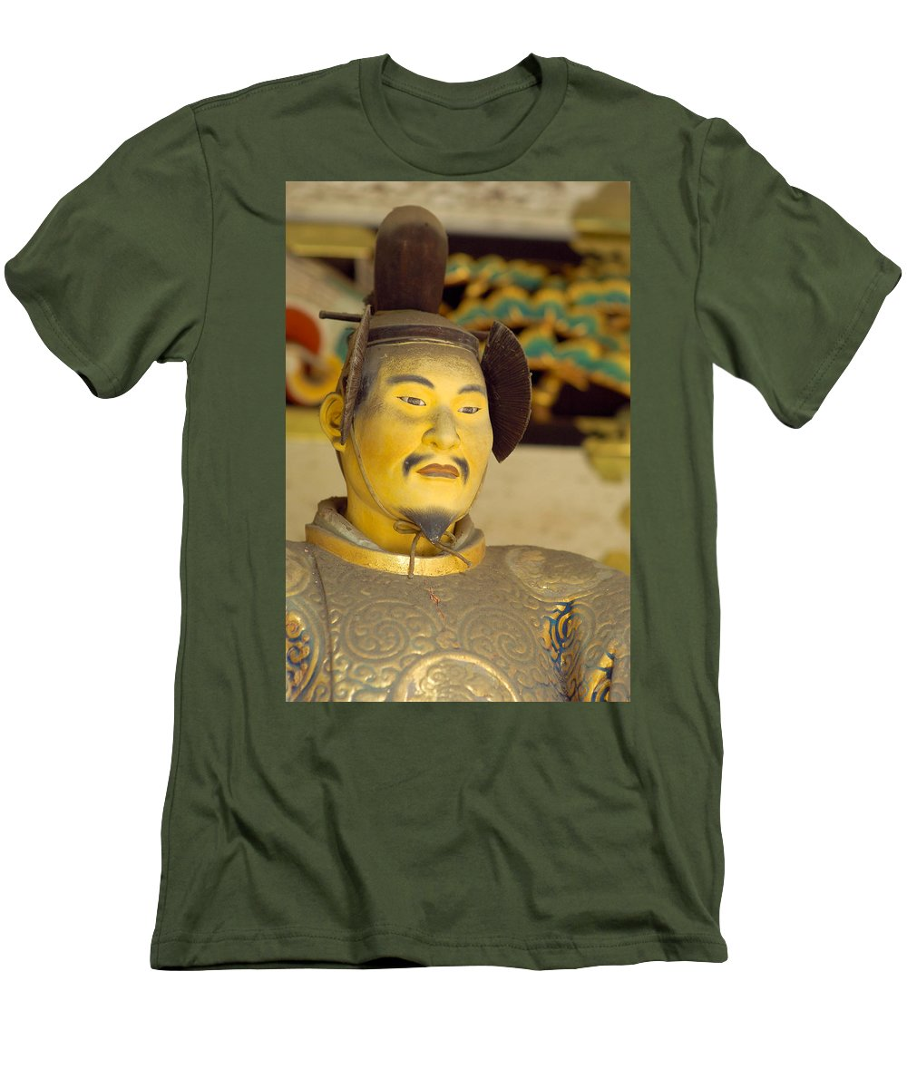 Japan Men's T-Shirt (Athletic Fit) featuring the photograph Japanese Warrior by Sebastian Musial