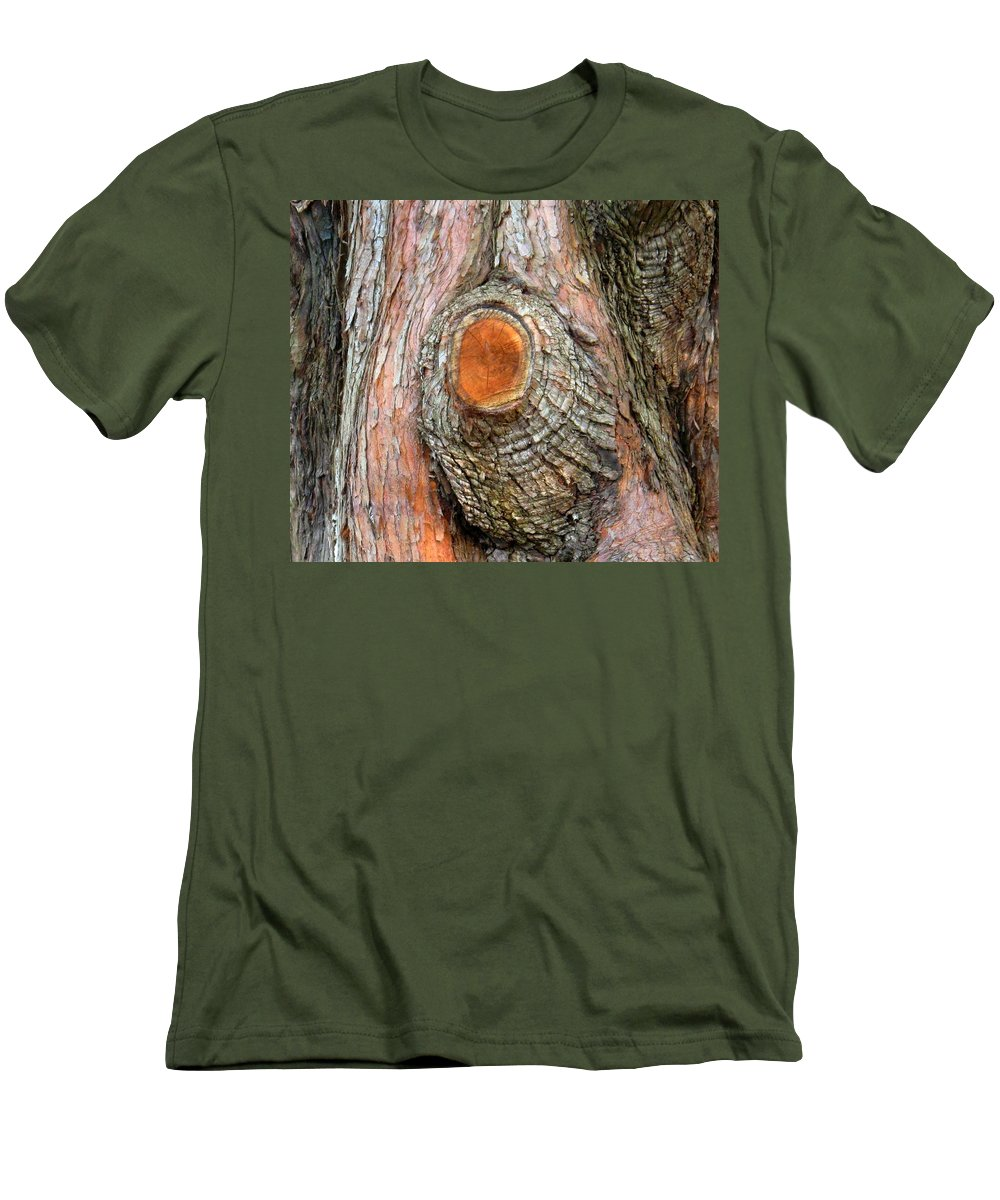 Tree Men's T-Shirt (Athletic Fit) featuring the photograph Knot by Ian MacDonald