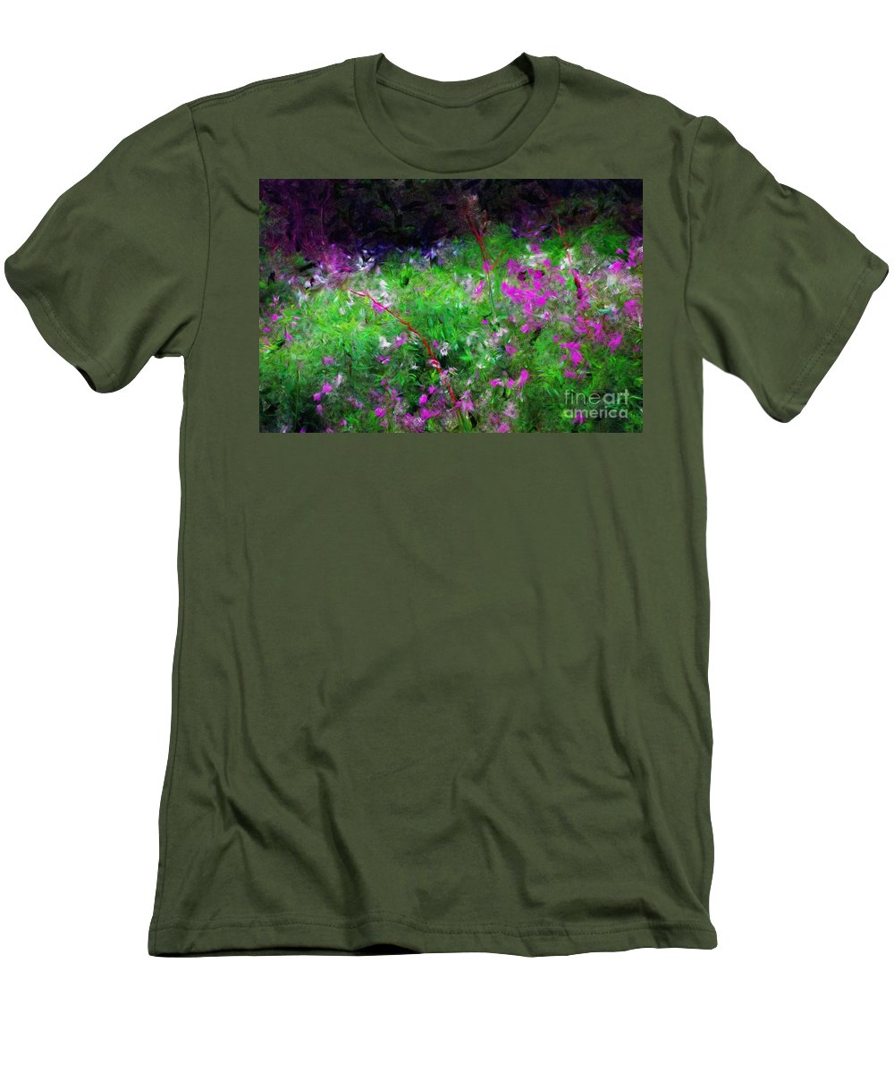 Digital Photograph Men's T-Shirt (Athletic Fit) featuring the photograph Mixed Up by David Lane