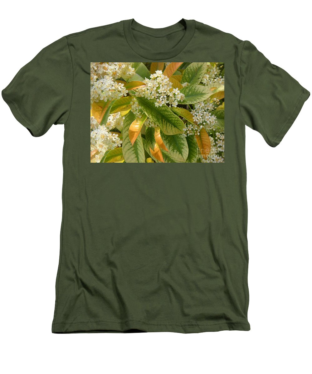 Nature Men's T-Shirt (Athletic Fit) featuring the photograph Nature In The Wild - A Summer's Day by Lucyna A M Green