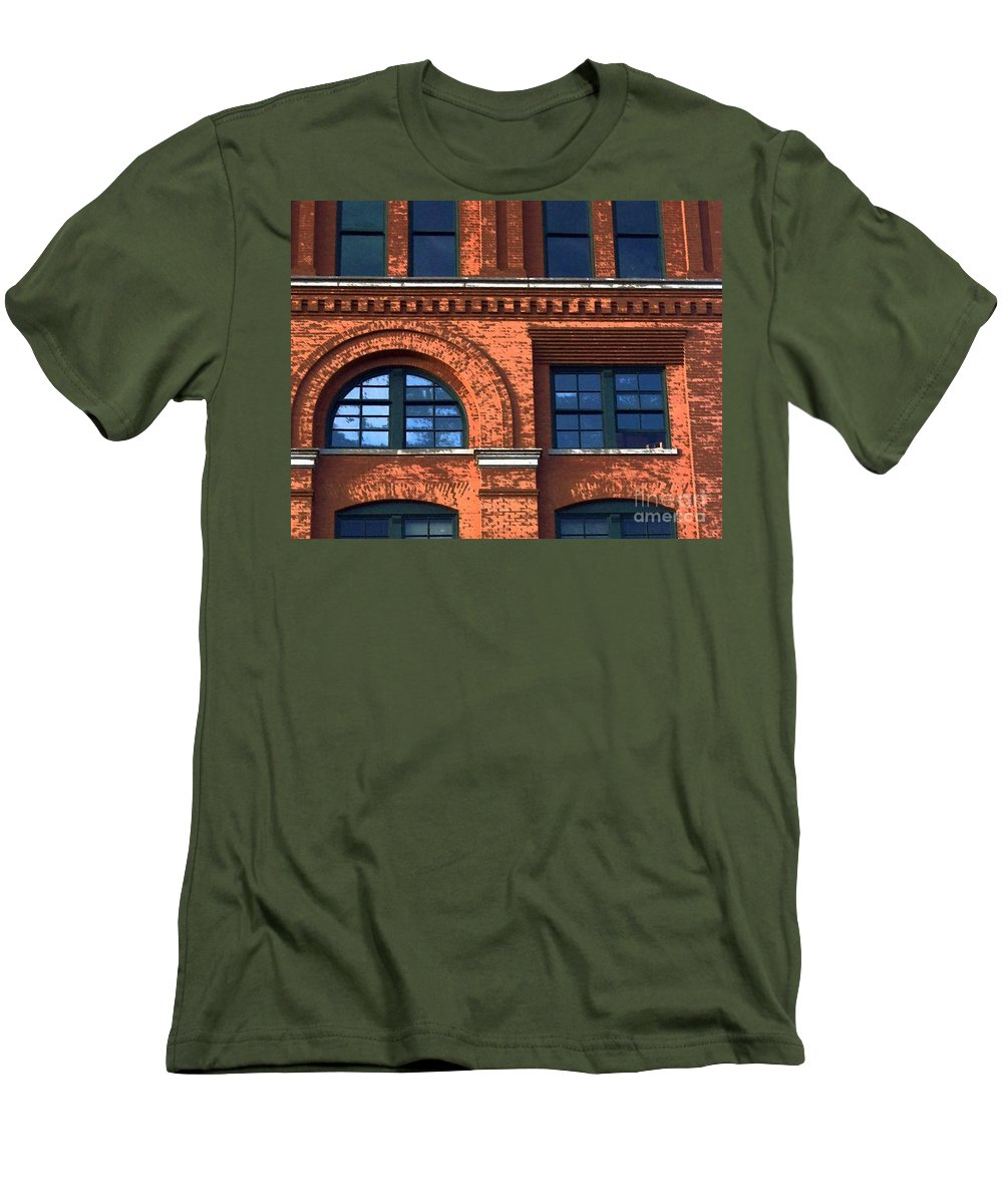 6th Floor Museum Men's T-Shirt (Athletic Fit) featuring the photograph Never Forget Jfk by Debbi Granruth