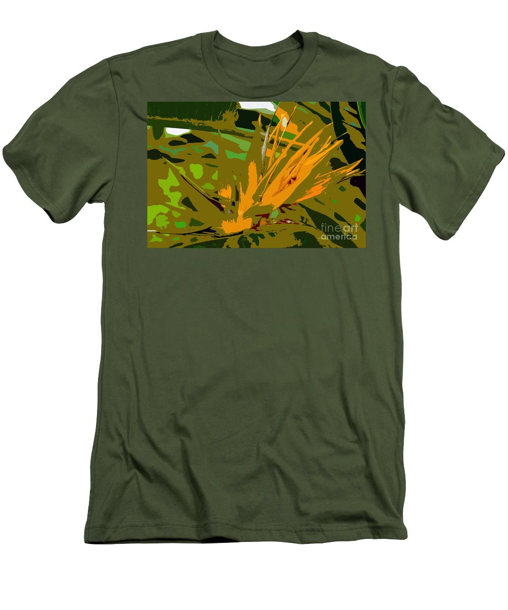 Paradise Men's T-Shirt (Athletic Fit) featuring the photograph Paradise Work Number 9 by David Lee Thompson