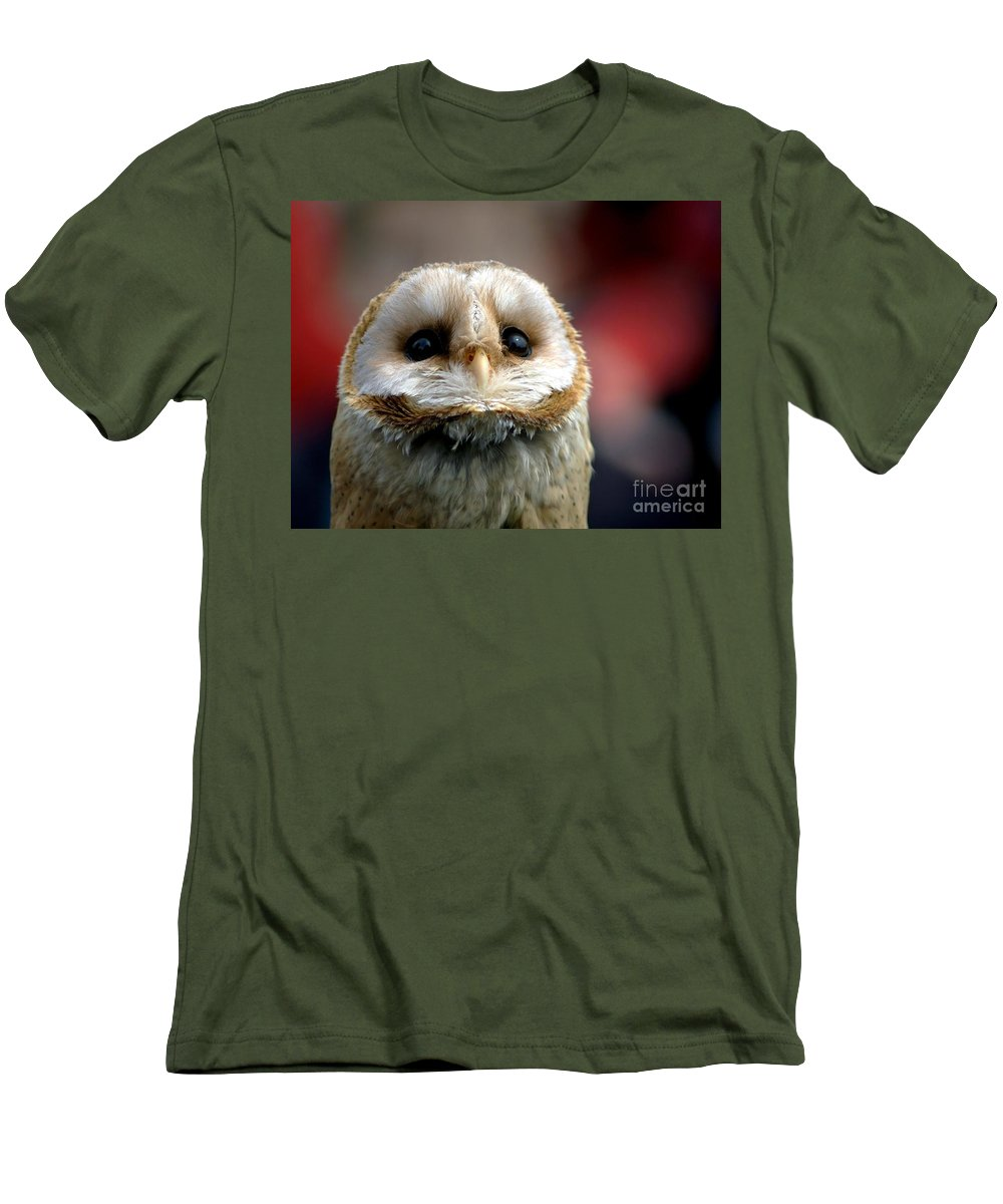 Wildlife Men's T-Shirt (Athletic Fit) featuring the photograph Please by Jacky Gerritsen
