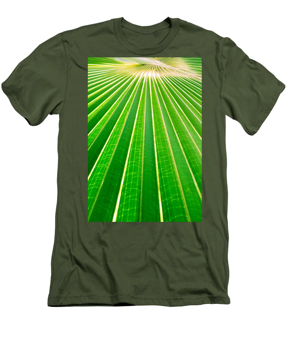 Nature Men's T-Shirt (Athletic Fit) featuring the photograph Reaching Out by Holly Kempe