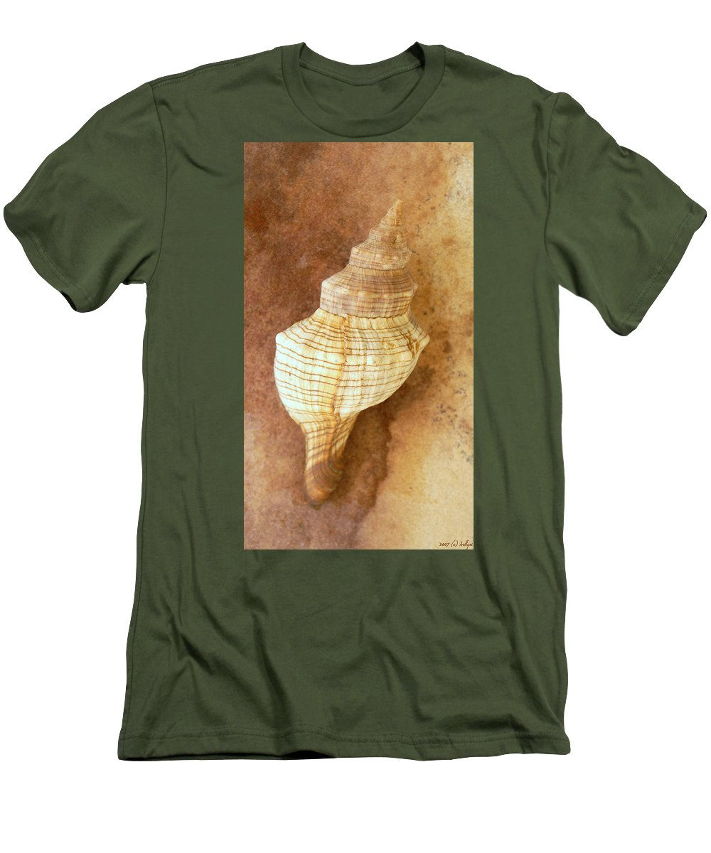 Still Life Men's T-Shirt (Athletic Fit) featuring the photograph Sounds Of The Sea by Holly Kempe