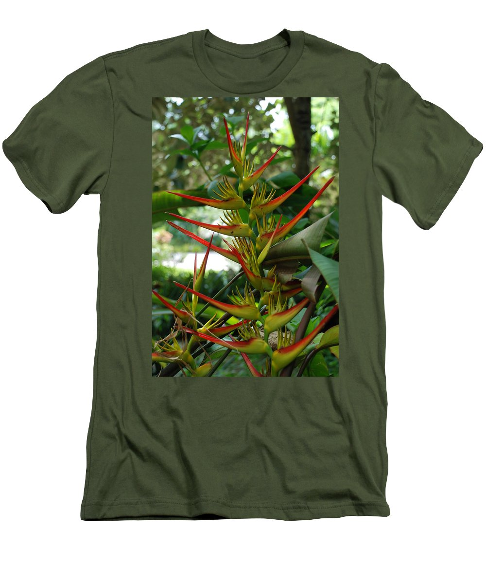 Spike Men's T-Shirt (Athletic Fit) featuring the photograph Spike Plants by Rob Hans
