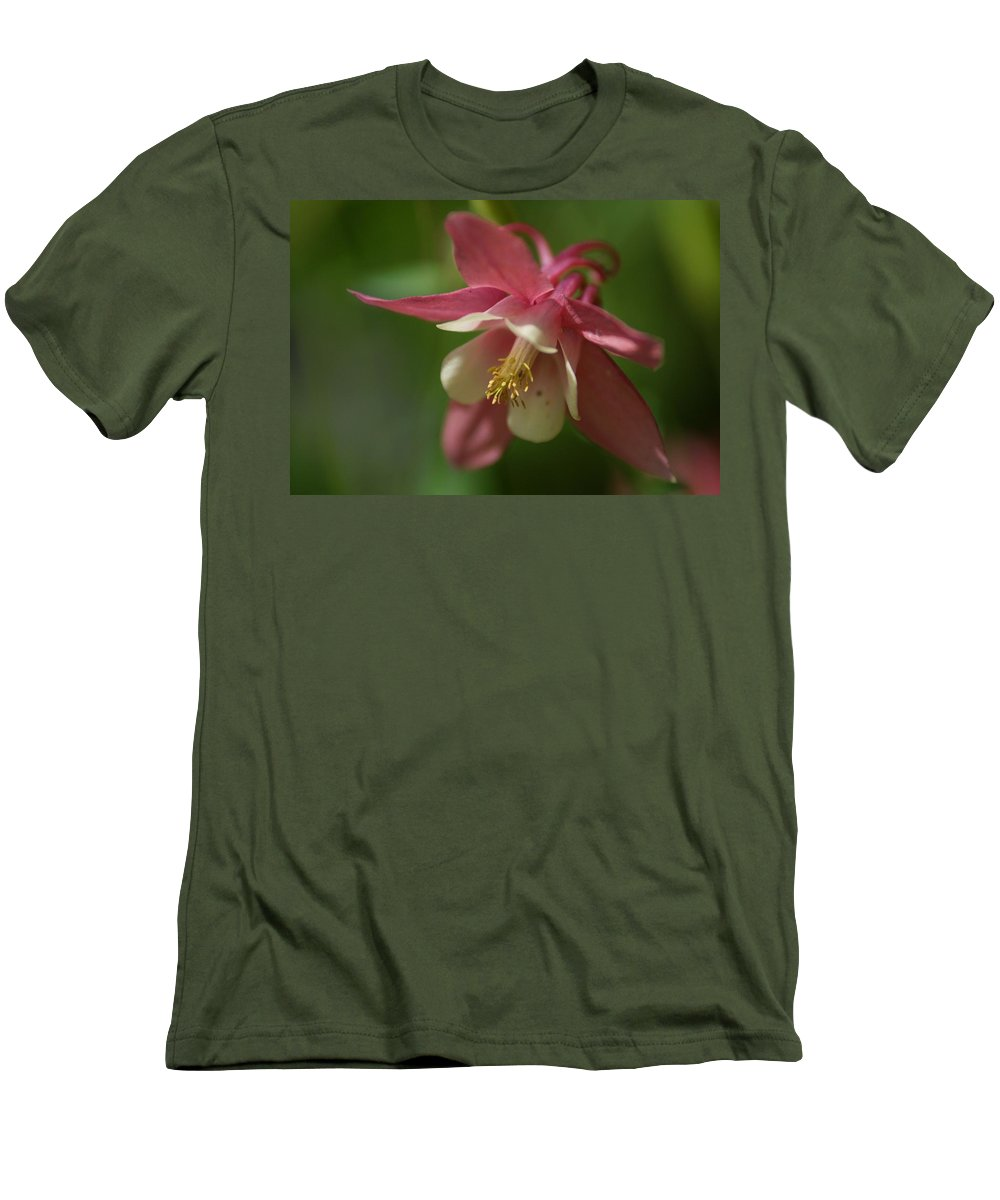 Flower Men's T-Shirt (Athletic Fit) featuring the photograph Spring 1 by Alex Grichenko