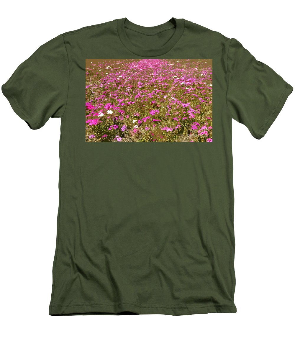 Spring Men's T-Shirt (Athletic Fit) featuring the digital art Spring Time by David Lee Thompson