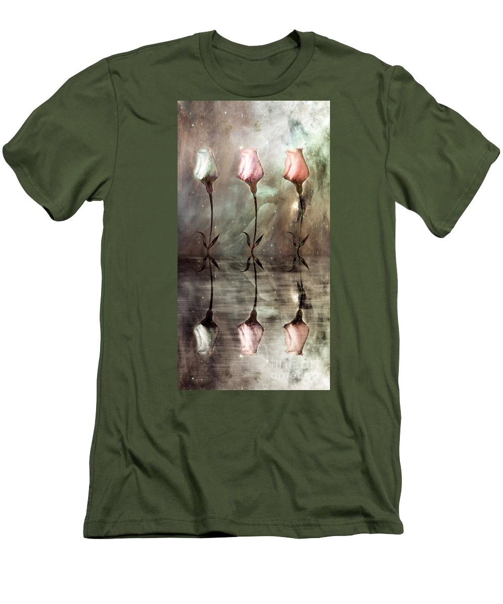 Floral Men's T-Shirt (Athletic Fit) featuring the photograph Still by Jacky Gerritsen