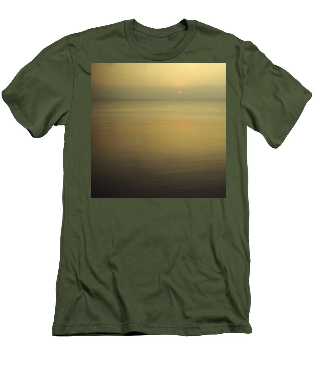 Blur Men's T-Shirt (Athletic Fit) featuring the photograph Tell Me If You Know All This by Dana DiPasquale