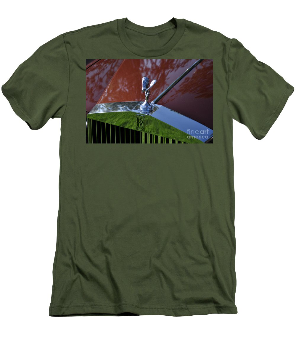 Clay Men's T-Shirt (Athletic Fit) featuring the photograph The Rolls by Clayton Bruster