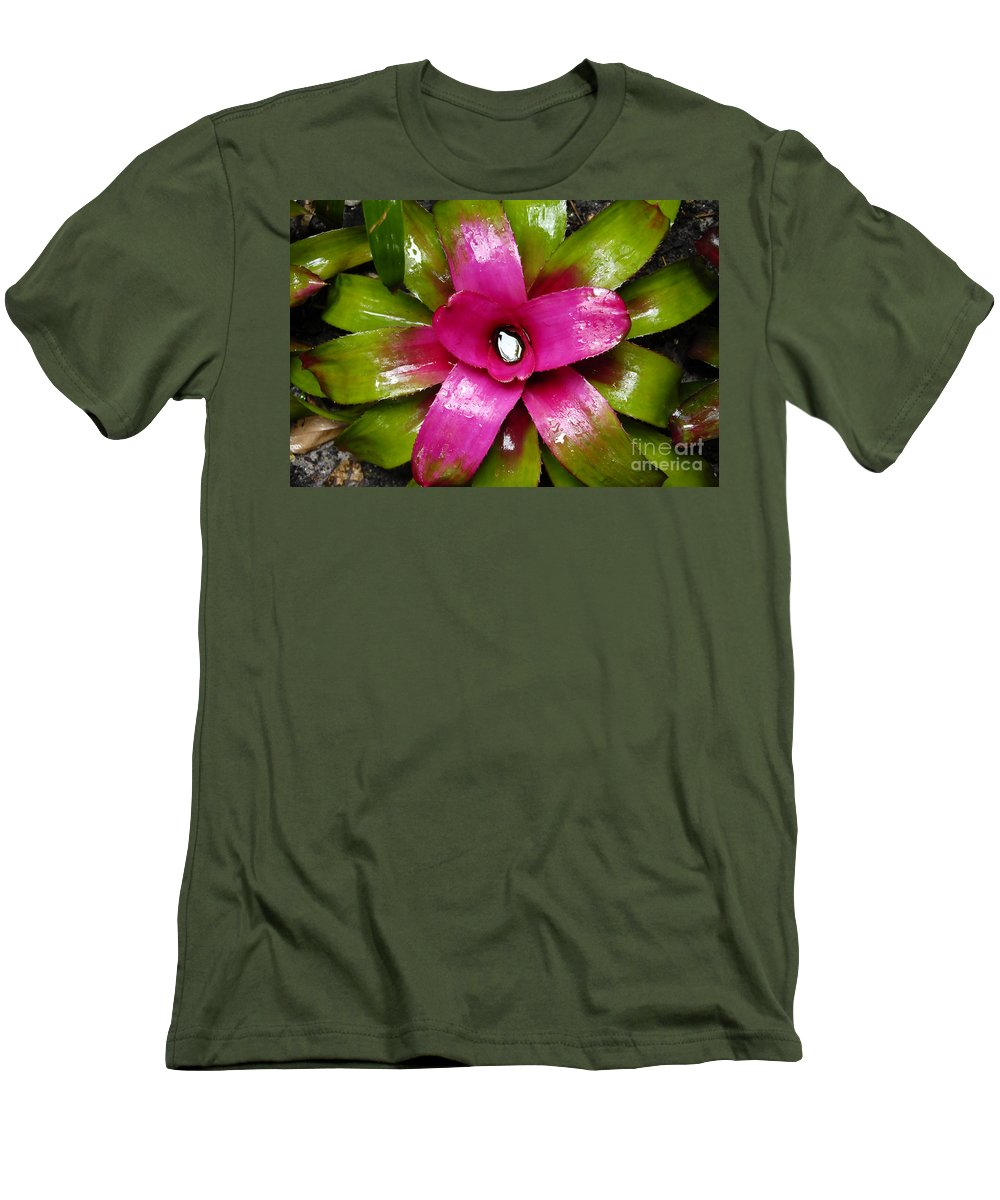 Tropical Men's T-Shirt (Athletic Fit) featuring the photograph Tropic Wonder by David Lee Thompson