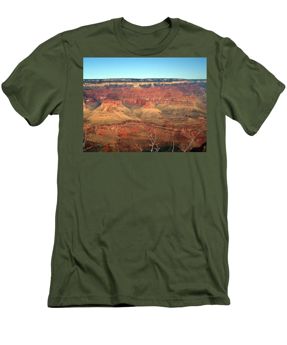 Grand Canyon Men's T-Shirt (Athletic Fit) featuring the photograph Whata View by Shelley Jones