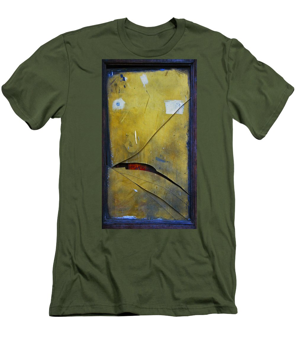 Abstract Men's T-Shirt (Athletic Fit) featuring the photograph Xalapa Miro by Skip Hunt