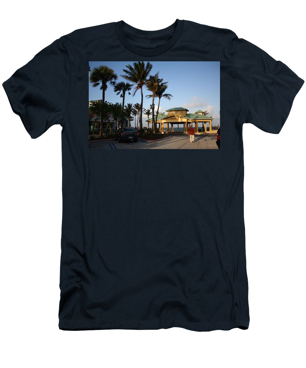 Florida Men's T-Shirt (Athletic Fit) featuring the photograph Lauderdale By The Sea by Dora Sofia Caputo Photographic Design and Fine Art