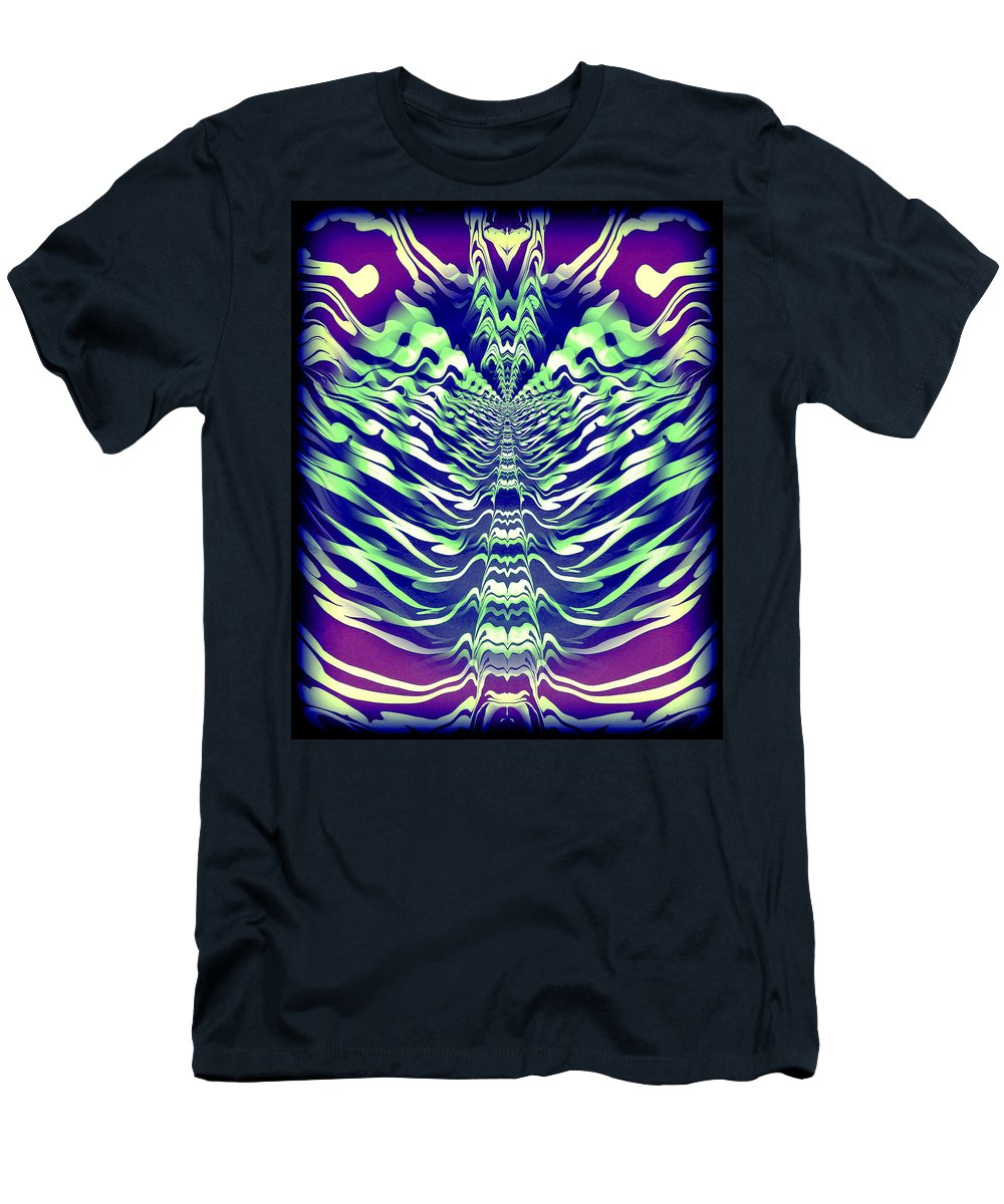 Original Men's T-Shirt (Athletic Fit) featuring the painting Abstract 140 by J D Owen