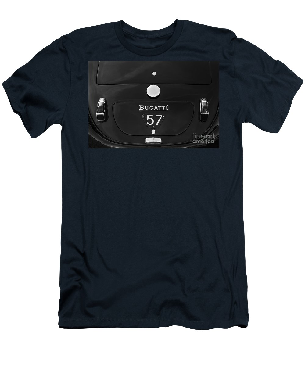 1936 Bugatti Type 57 Men's T-Shirt (Athletic Fit) featuring the photograph Bugatti Type 57 by Dennis Hedberg