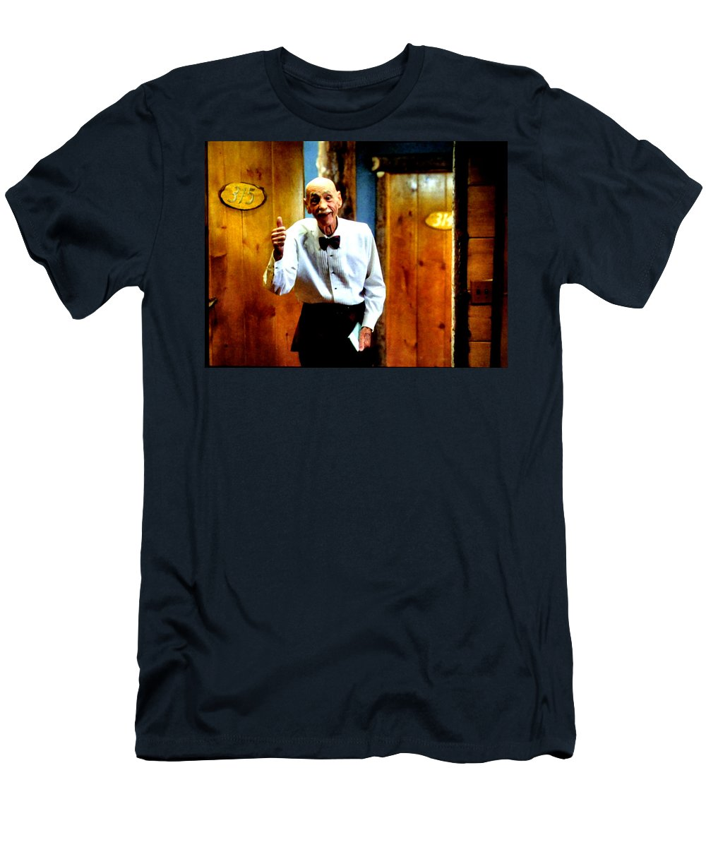 Laura Palmer Men's T-Shirt (Athletic Fit) featuring the painting I've Heard About You by Luis Ludzska