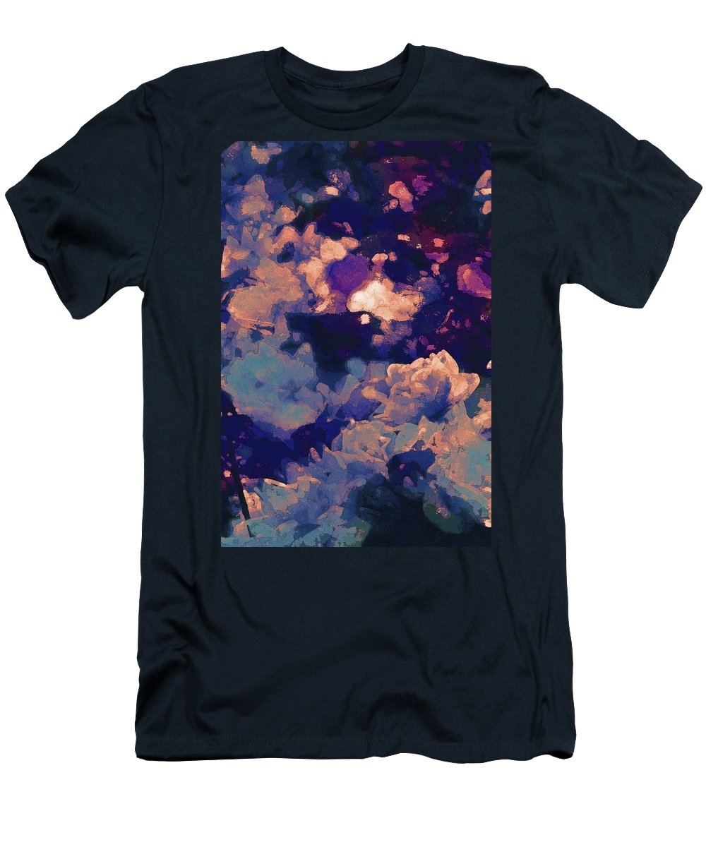 Abstract Men's T-Shirt (Athletic Fit) featuring the photograph Abstract 277 by Pamela Cooper