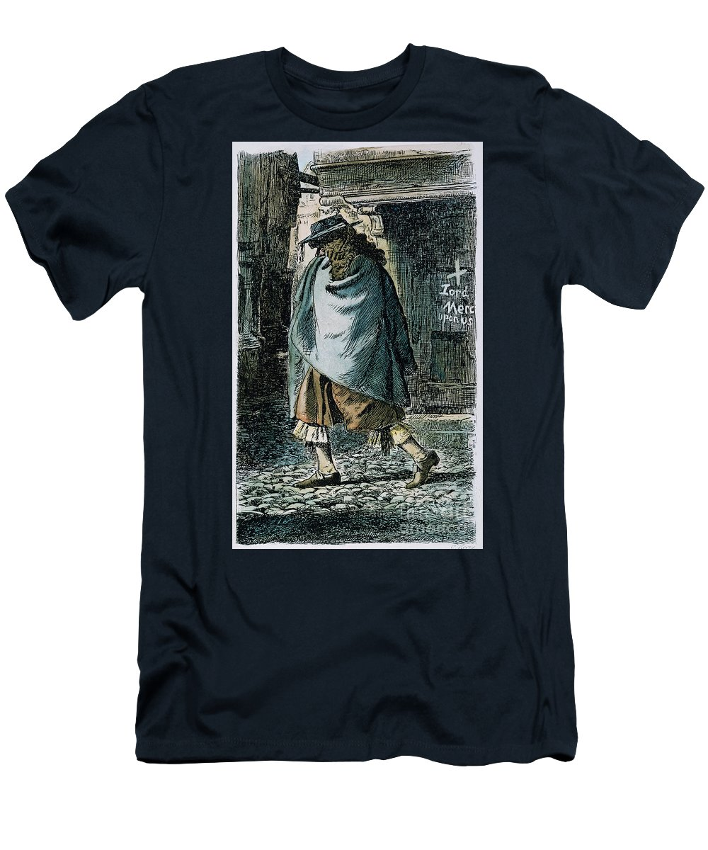 1665 Men's T-Shirt (Athletic Fit) featuring the photograph Samuel Pepys (1633-1703) by Granger