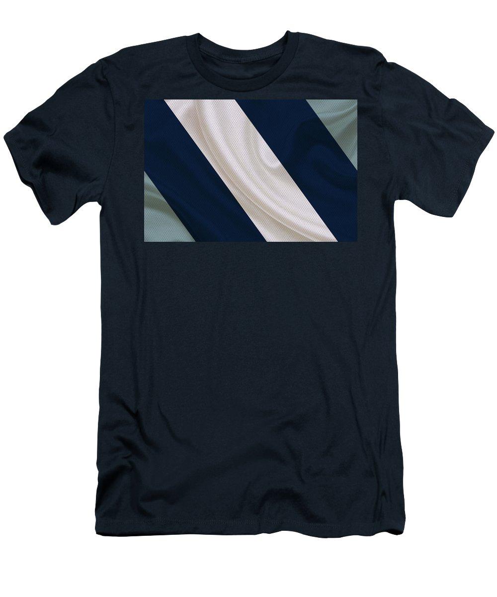 Cowboys Men's T-Shirt (Athletic Fit) featuring the photograph Dallas Cowboys by Joe Hamilton