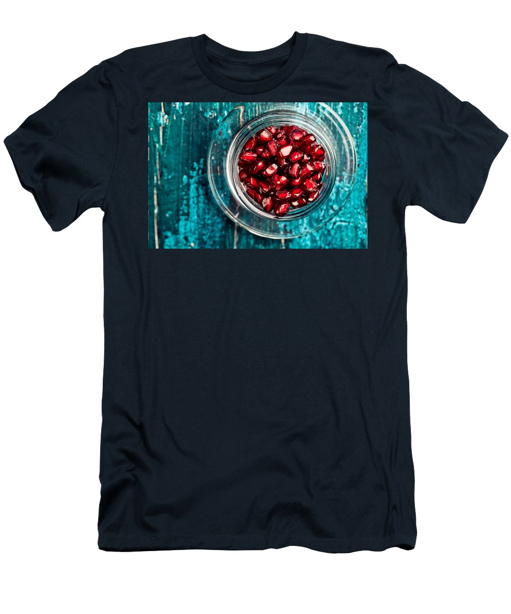 Pomegranate T-Shirt featuring the photograph Pomegranate by Nailia Schwarz