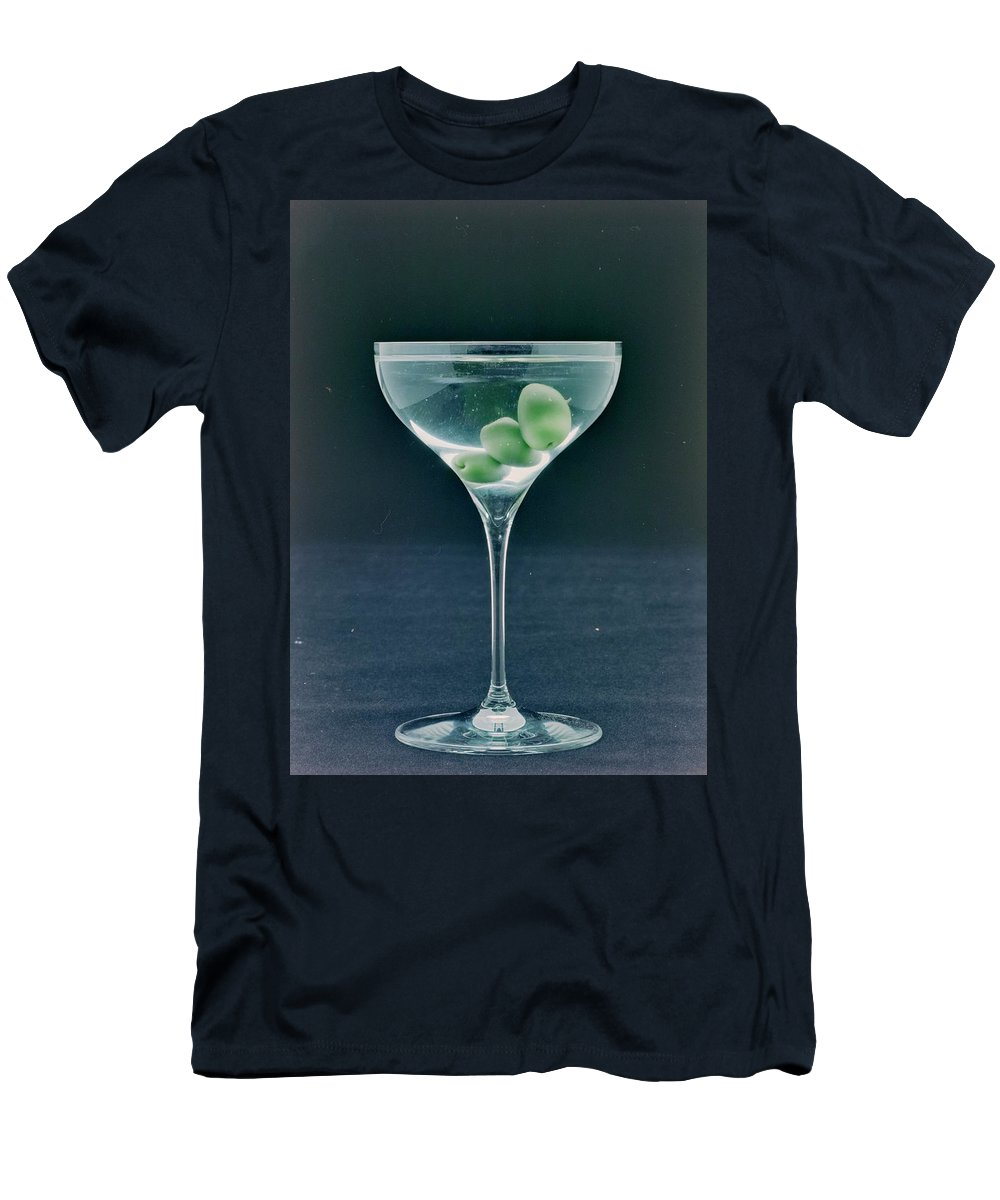 Nobody T-Shirt featuring the photograph A Martini by Romulo Yanes