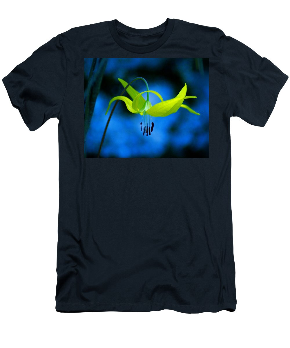 Flower Men's T-Shirt (Athletic Fit) featuring the photograph Beauty And Grace 1 by Ben Upham III