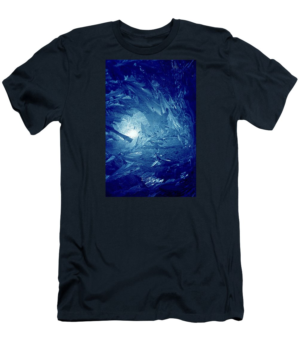 Abstract Men's T-Shirt (Athletic Fit) featuring the photograph Blue by Richard Thomas