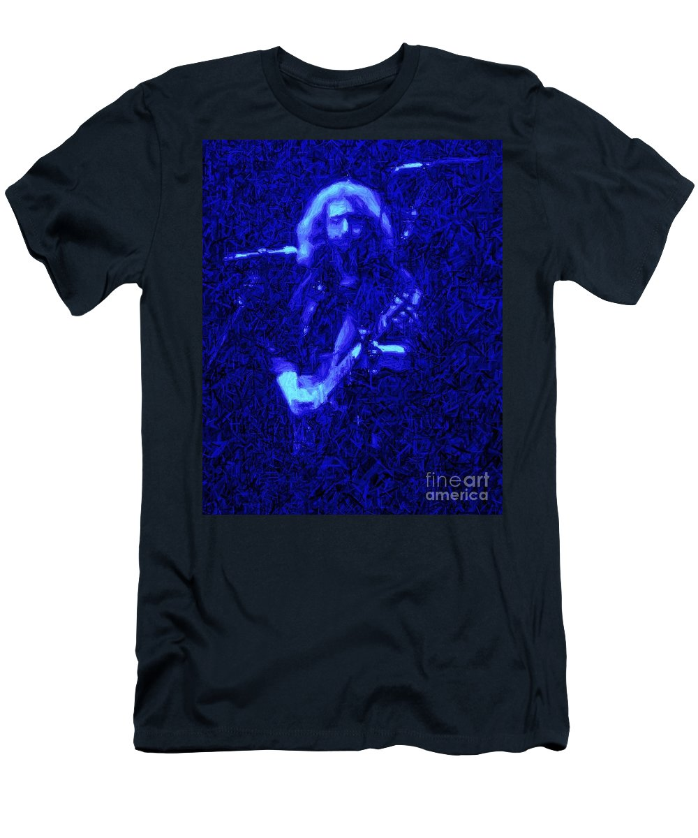 Garcia Men's T-Shirt (Athletic Fit) featuring the photograph Bertha by Susan Carella