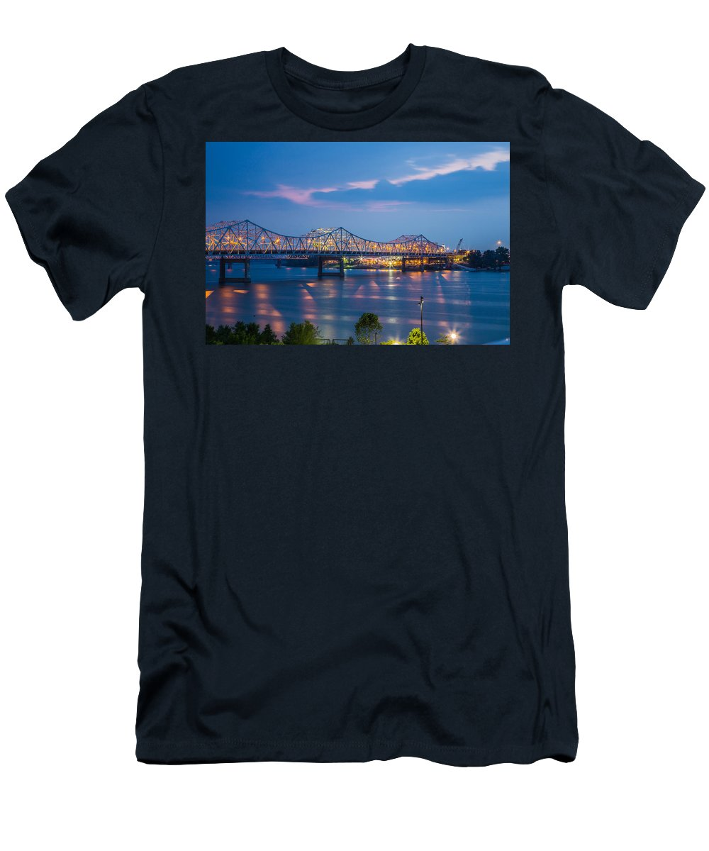 Water Men's T-Shirt (Athletic Fit) featuring the photograph Calm Before The Storm by James Guest