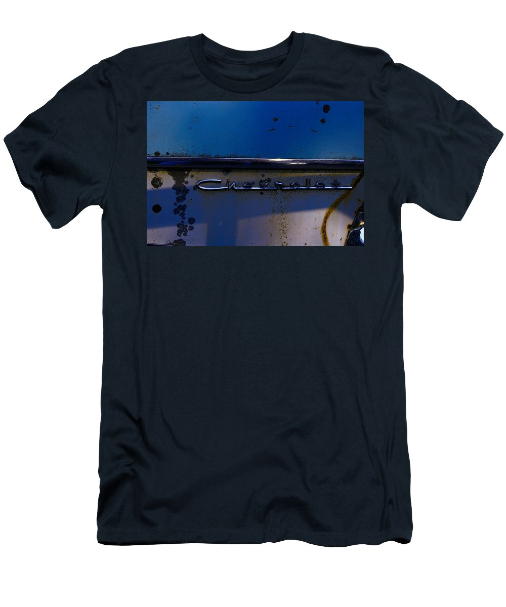Men's T-Shirt (Athletic Fit) featuring the photograph Chevrolet 2 by Cathy Anderson