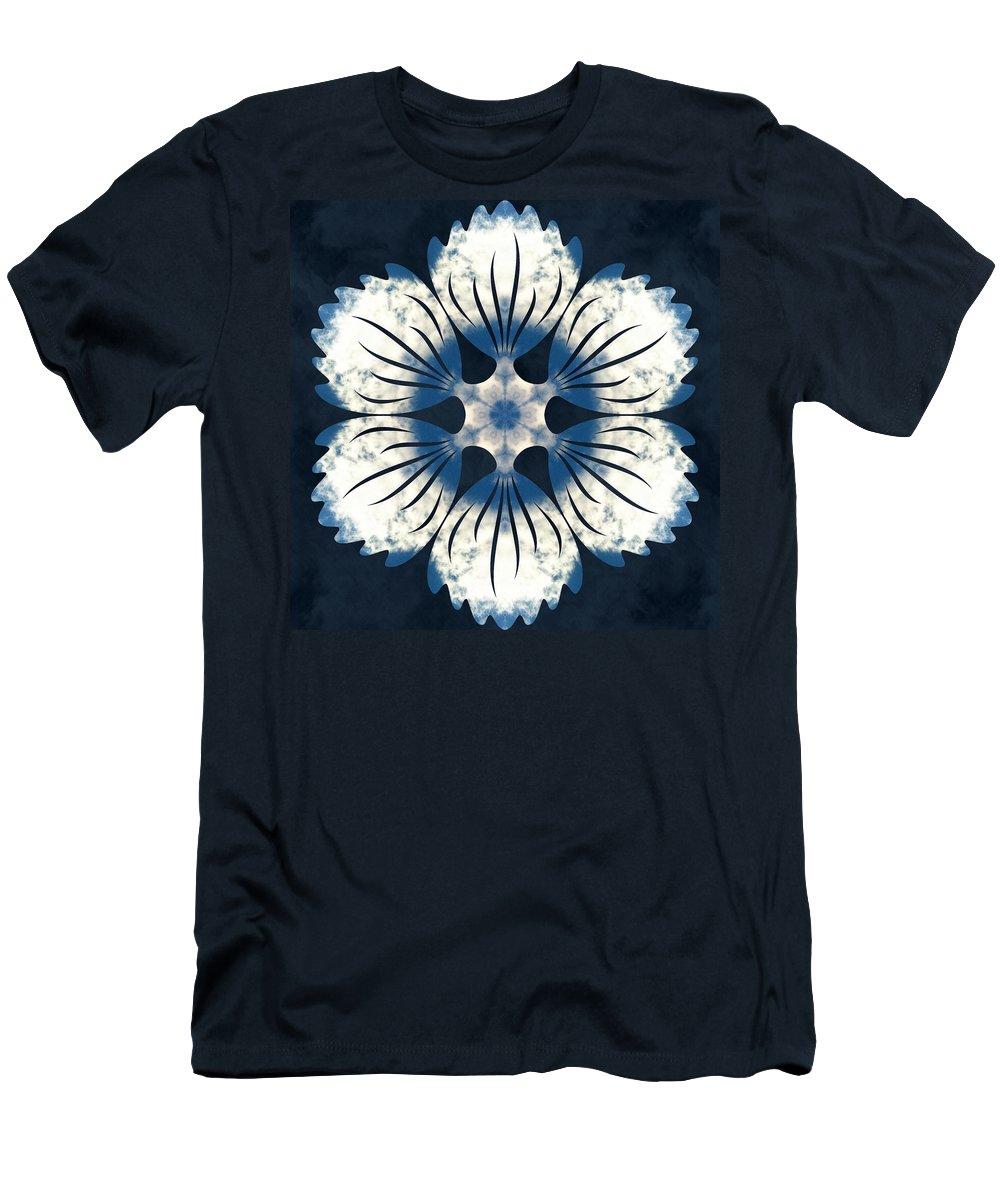Sacredlife Mandalas Men's T-Shirt (Athletic Fit) featuring the photograph Clear Skies by Derek Gedney